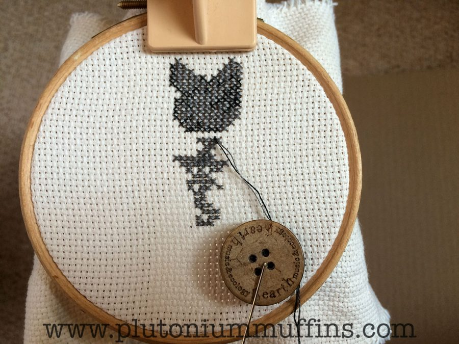 A free pattern by Durene Jones (click the image to go to my blog post about her). Lots of work on the 12th of May!