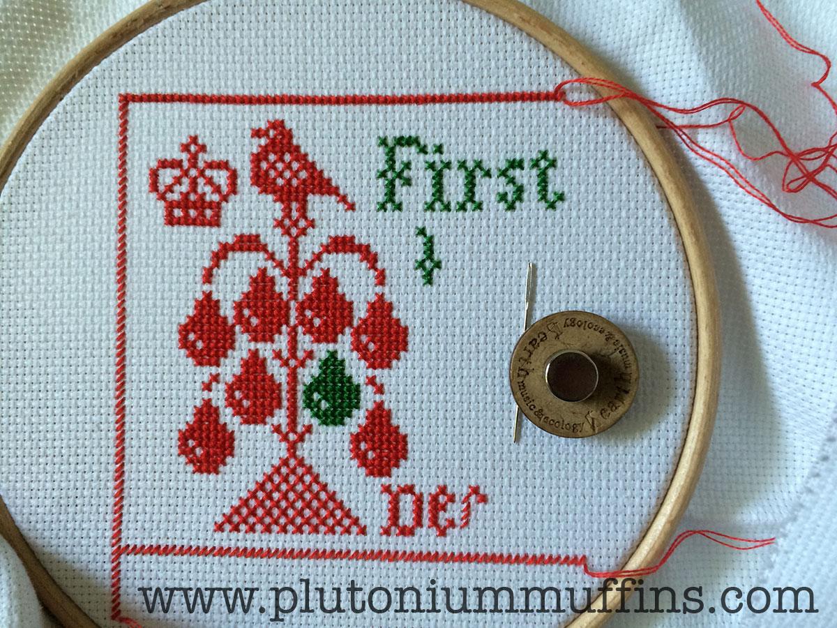 12 Days Of Christmas Cross Stitch.Twelve Days Of Christmas Plum Street Samplers Plutonium