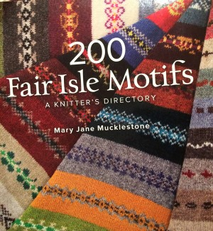 A fantastic source of fairisle motifs.