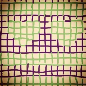 Heart-pattern for Wonder-Gran's Pres (Copyright Corrie B)