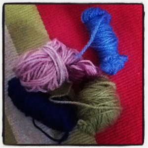 Yarn oddments - what do you do with yours? (Copyright Corrie B)