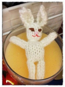 Cute or evil little bunny? (Copyright John S)