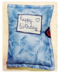 Needle-Case -- Birthday (Copyright Corrie B)