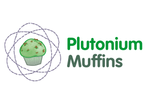 The new Plutonium Muffins logo