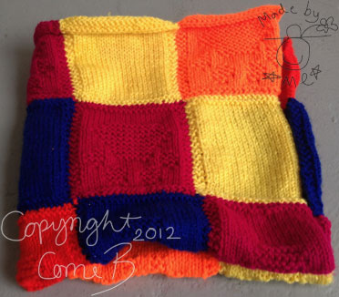 BATTERSEA DOGS HOME BLANKET KNITTING PATTERN   KNITTING PATTERN