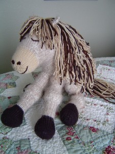 Knitted Pony