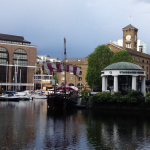 St Katherine's Docks on a walking tour