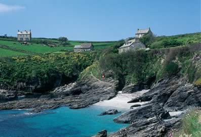 Prussia Cove, our holiday destination!