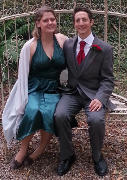 Me and my dapper chap, doesn't he look awesome?