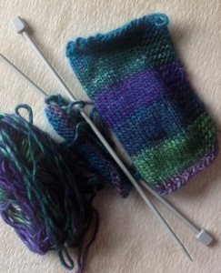 Sideways is nearly there! A lovely quick pattern.