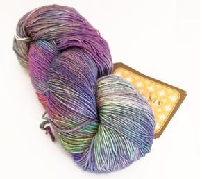 Aracunia hand-painted yarn. Beautiful.