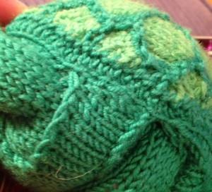 Stitching attachment.