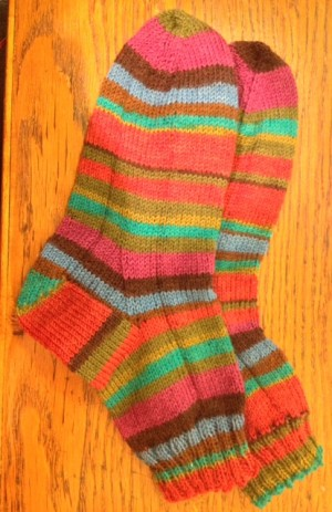 Socks for Wonder-Gran.