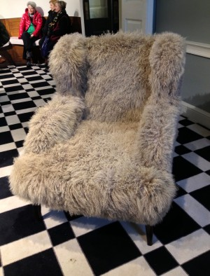 Mammoth Chair - wouldn't you like to sink in!