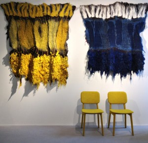Claudy Jongstra's incredible tapestries.