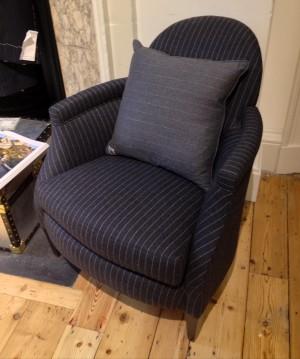 Pinstripe Chair, fantastic!