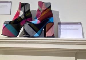 Massive, gorgeous shoes by Vivienne Westwood.