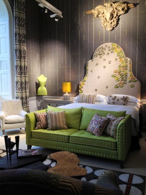 Bedroom by Kit Kemp. One of my favourite rooms.