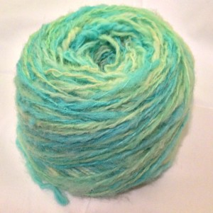 A big ball of beautiful Sherbert Yarn.