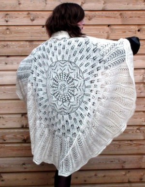 Ruth's Sampler Shawl