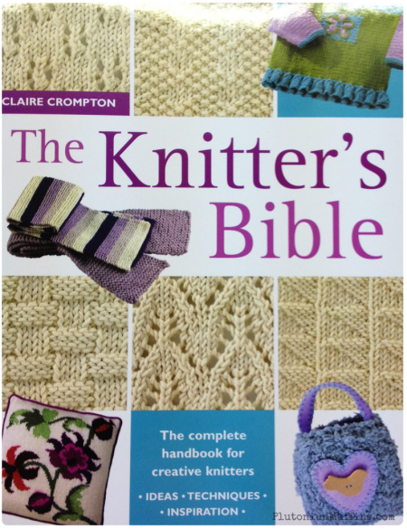 The front of the Knitter's Bible.