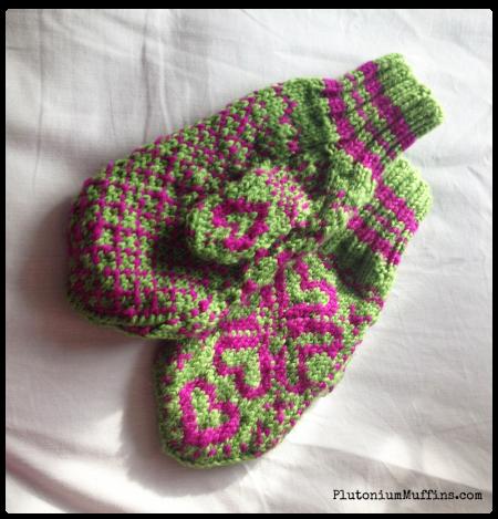 Gorgeous fairisle mittens, love them.