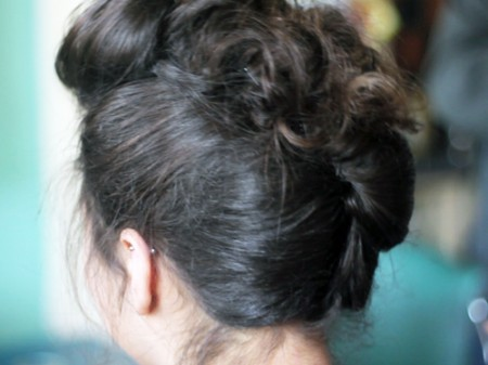 50's rockabilly from the back.