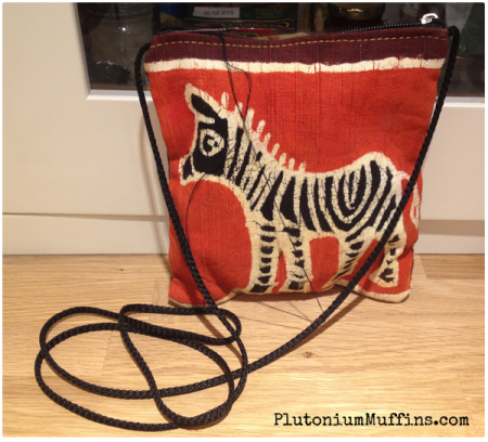A gorgeous sewing bag.