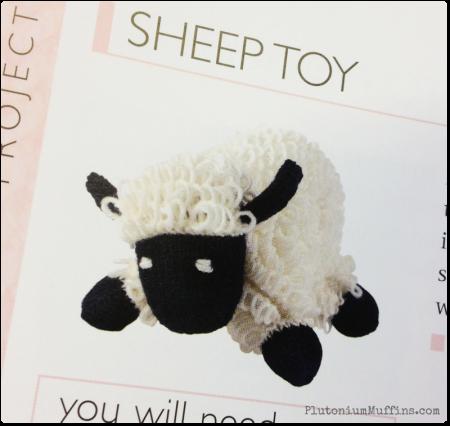 Beautiful sheep toy.