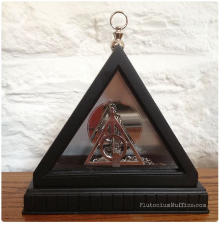 The Deathly Hallows necklace.