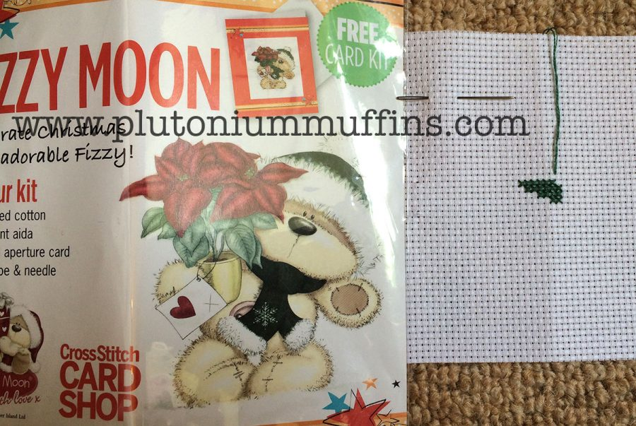 A free Fizzy Moon kit, started on the 8th of May. I was very tired this night!