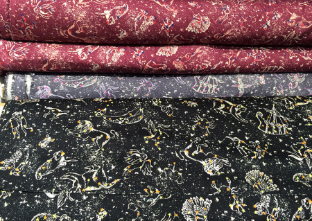 Astrology Fabric in Liberty.