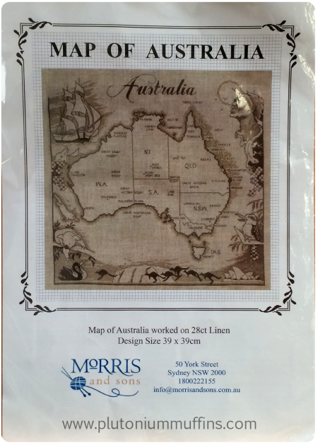 A map of Australia. This will be stunning, I guarantee it.