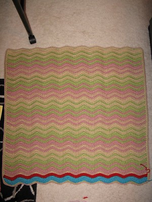 The Zoomies, with a few rows completed! Image copyright SugarAngel 2014.