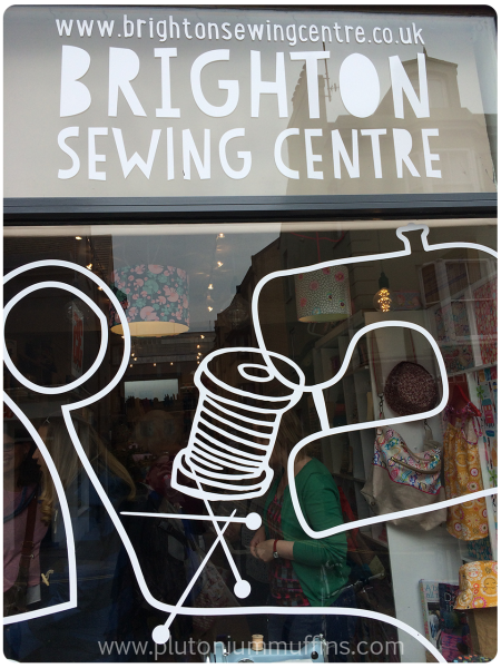 Front of the Brighton Sewing Centre.