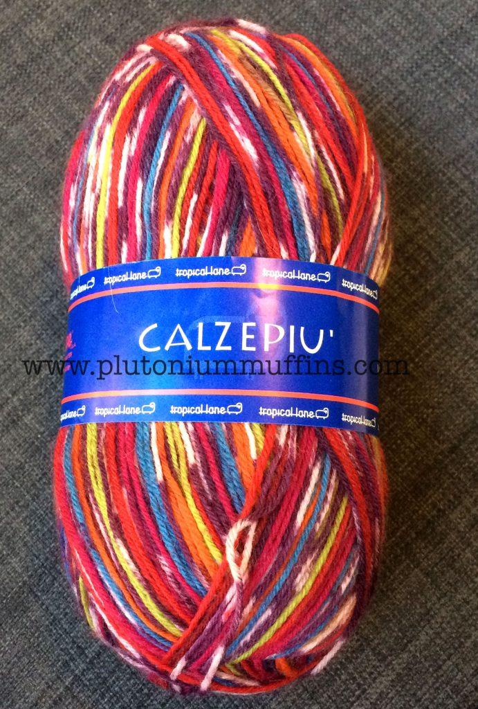 Calzepiu! My sock yarn for the Pisa socks.