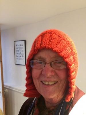 Gran wearing her Capucine.