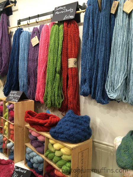 Chunky yarns from Native Yarns.