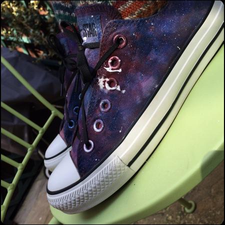 Anti-gravity Converse.