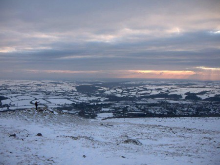 Grew up on Dartmoor - there's a speck to the left that is me!