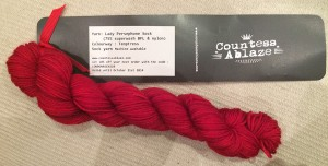 Countess Ablaze Lady Persephone Sock Yarn