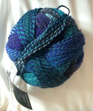 My new yarn - Crazy Zauberball.