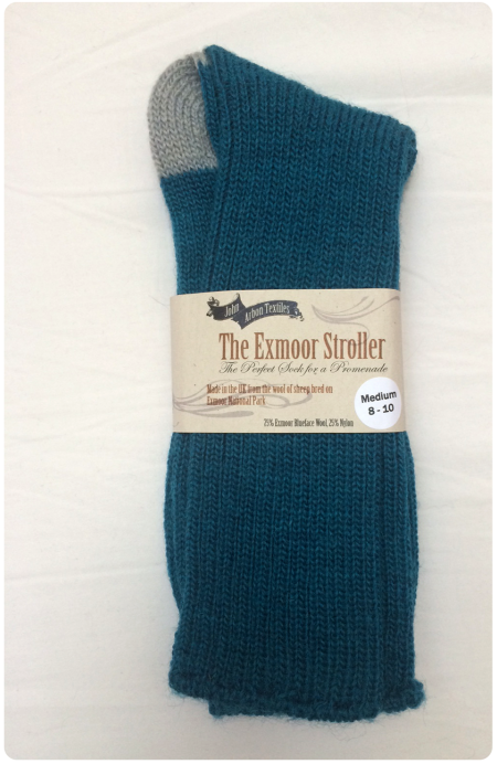 The Exmoor Stroller socks in Medium.