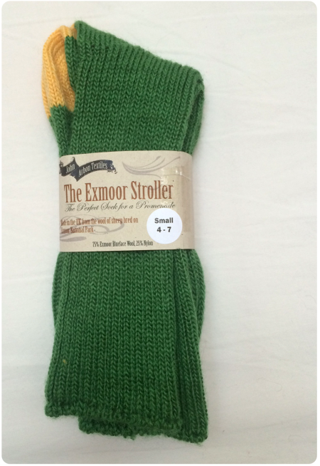 The Exmoor Stroller socks in Small.