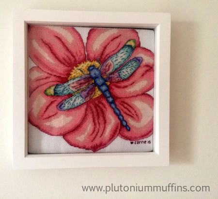 A fully finished object - the Dragonfly hangs on my wall in Devon.