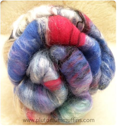 Fibre in this giveaway from the side.