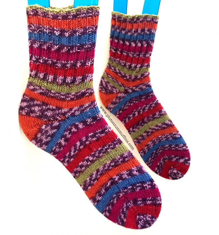 My finished Pisa socks!