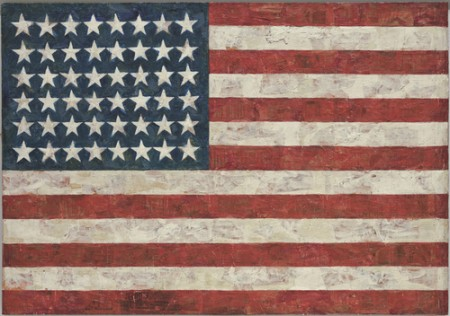 """Flag"" by Jasper Johns."