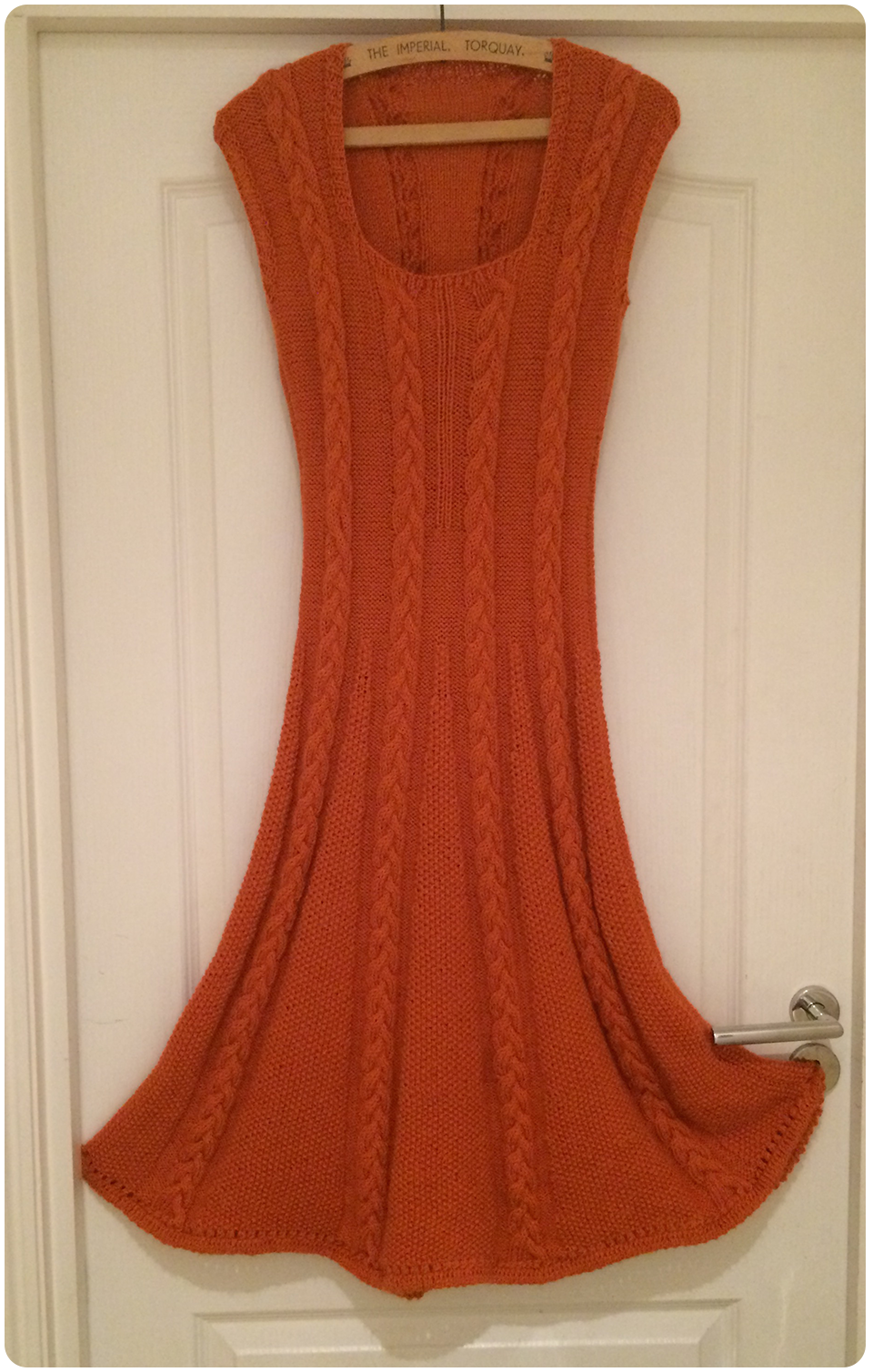 The Icon Dress, finished after a long, hard slog.