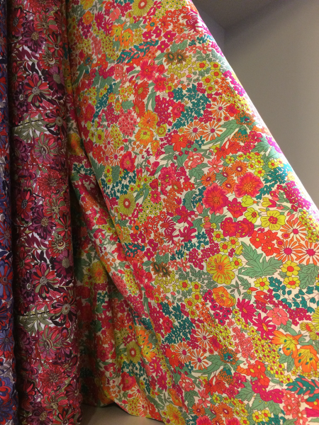 Flowery Fabric in Liberty.